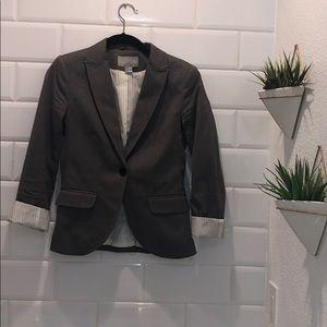 Light Gray H&M Suit Jacket